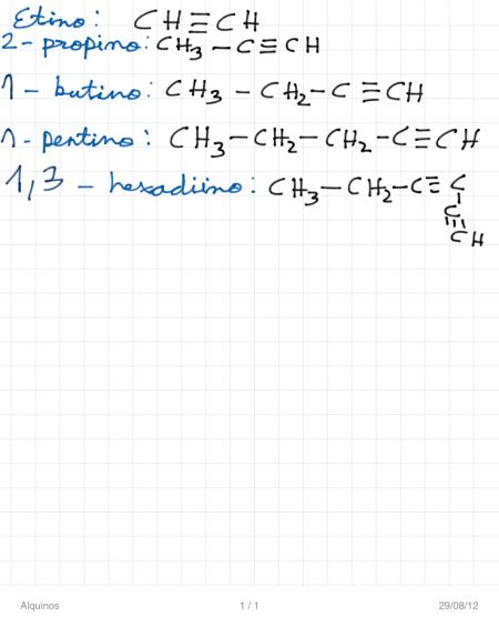 Formulacin y nomenclatura de la qumica orgnica bienvenidos a ejemplos de compuestos en los cuales hay presentes dobles y triples enlaces urtaz Choice Image