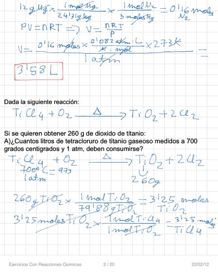 Ejercicios Con Reacciones Quimicas P2 (1)