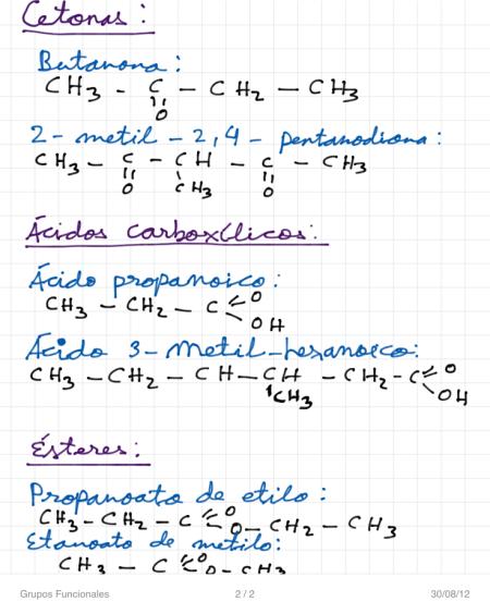 Grupos Funcionales P2