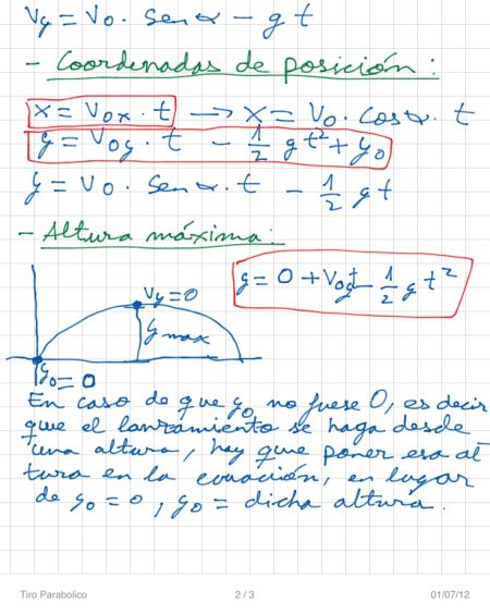 Tiro Parabolico P2