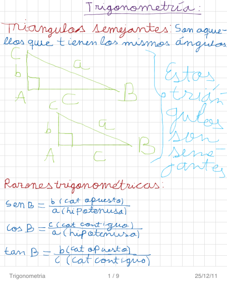 Trigonometria P1