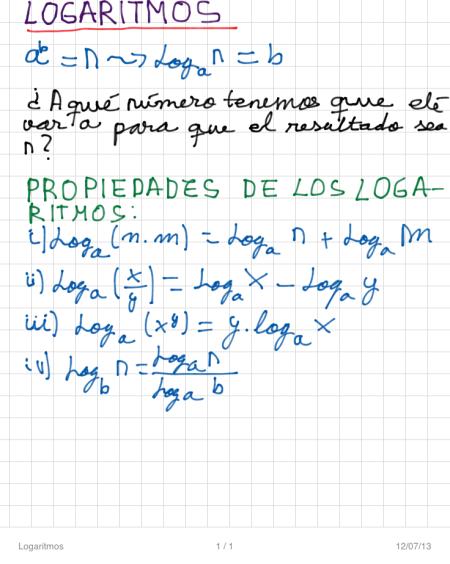 Logaritmos P1
