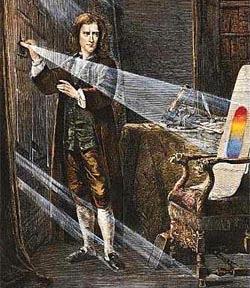 newton y el prisma